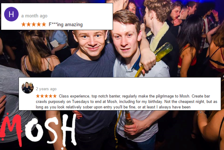 Leicesters night life according to online reviews fletch photography malvernweather Choice Image