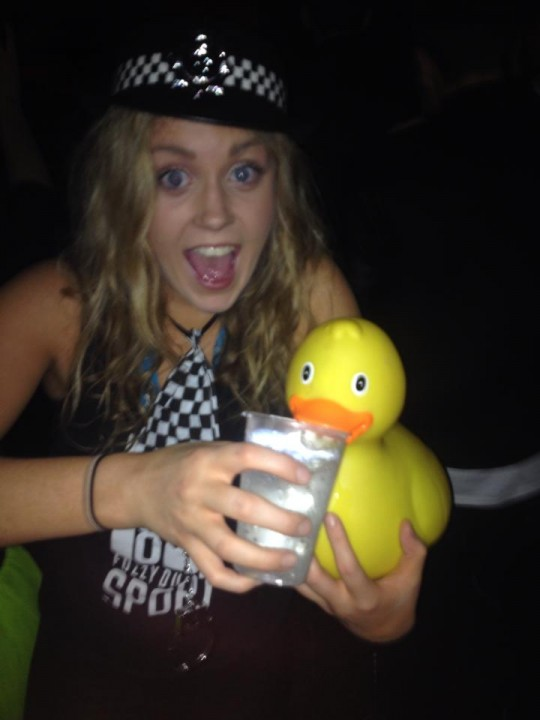Deirdre is a bad influence on Freshers and Ducklings alike