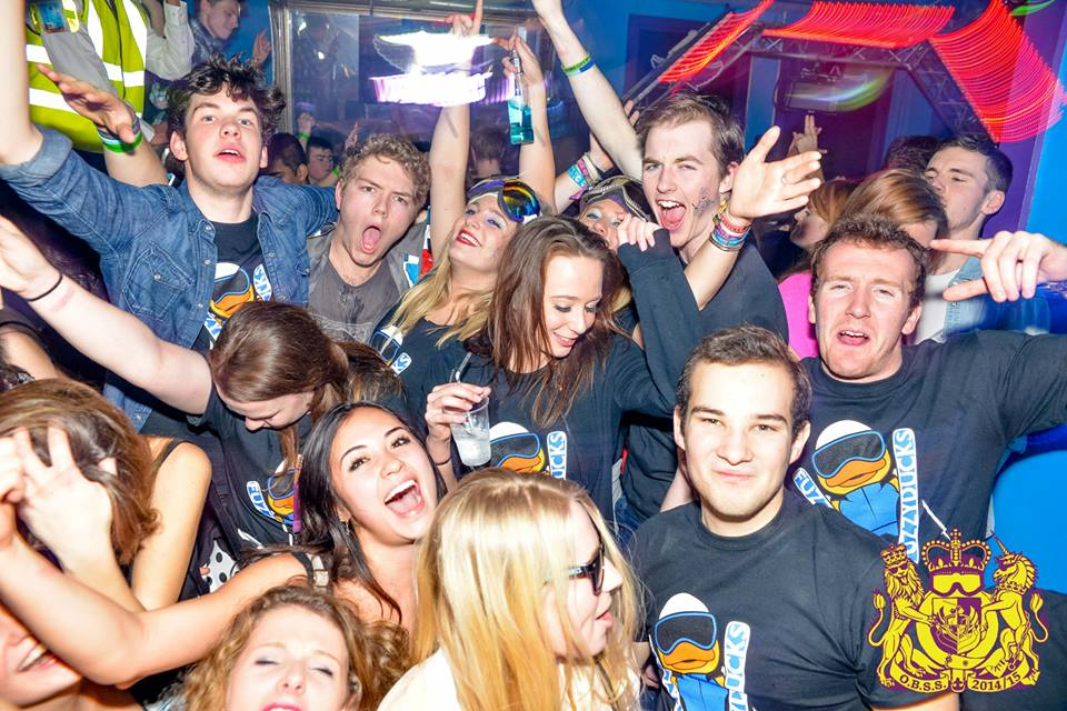 Snow socials summed up in one photo