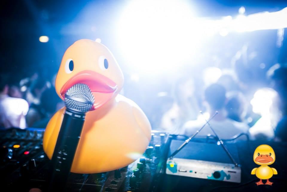 MC Fuzz on the mic