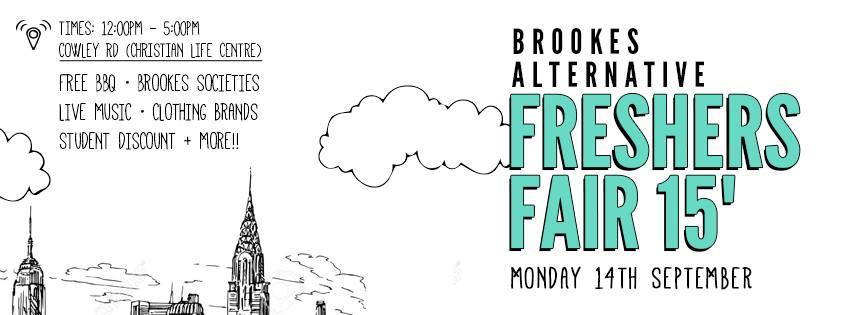 freshers fair 2015