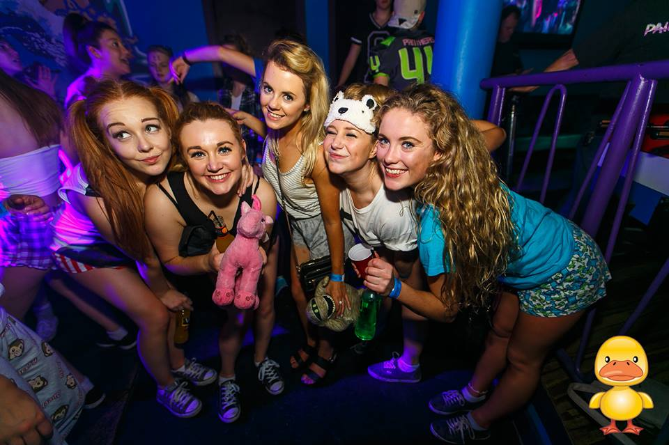 Taking your cuddly toy to the club