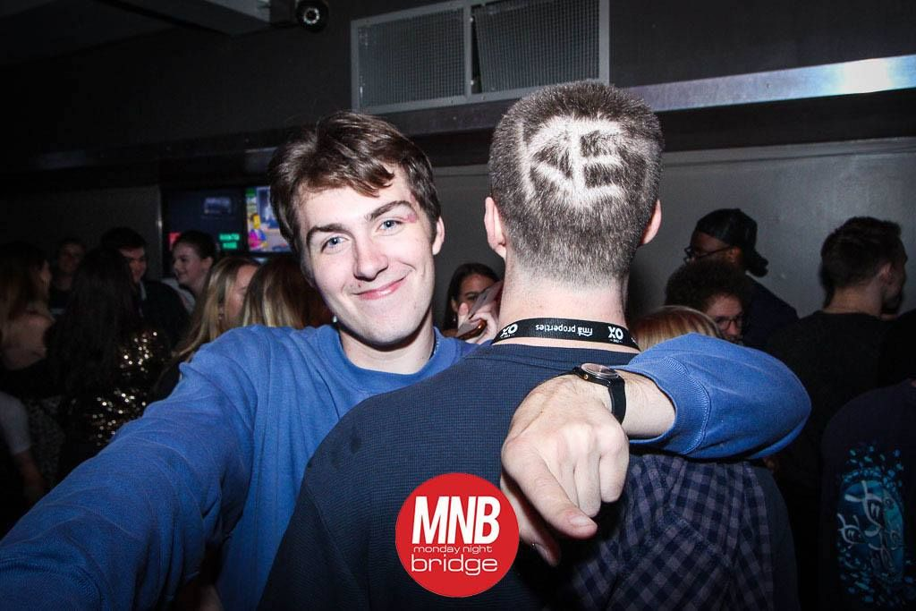 Image may contain: Night Club, Leisure Activities, Hair, Face, Club, Party, Bar Counter, Pub, Person, Human