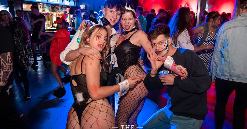 Image may contain: Disco, Night Life, Club, Night Club, Party, Human, Person