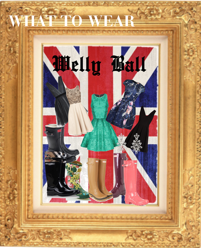 what to wear welly ball