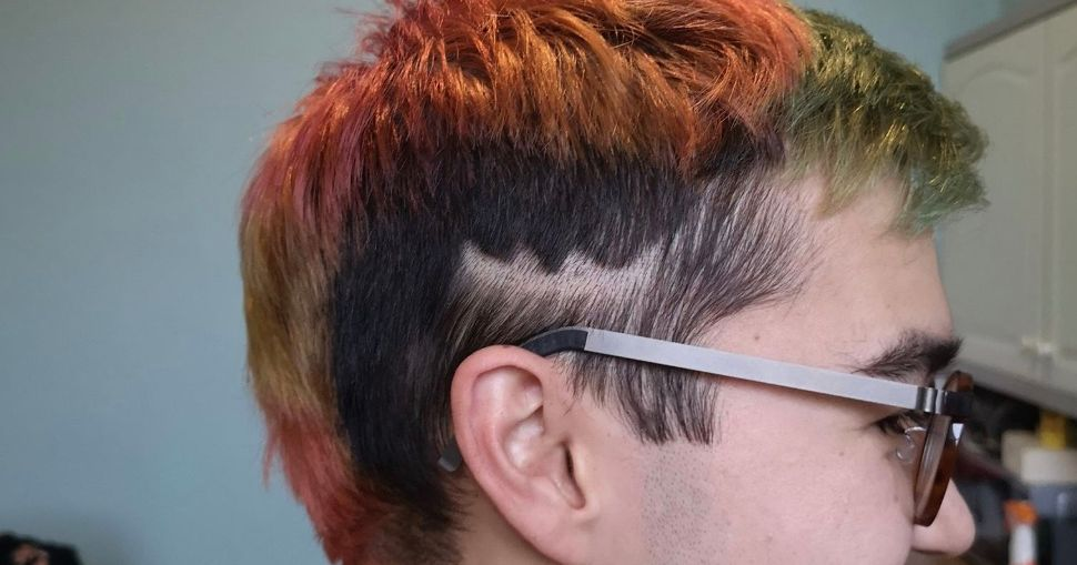 Image may contain: Haircut, Hair, Head, Face, Human, Person