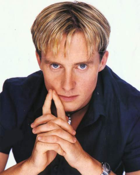 Ian 'H' Watkins from pop band Steps. Might not want to take too many more pictures with that creepy look on your face.