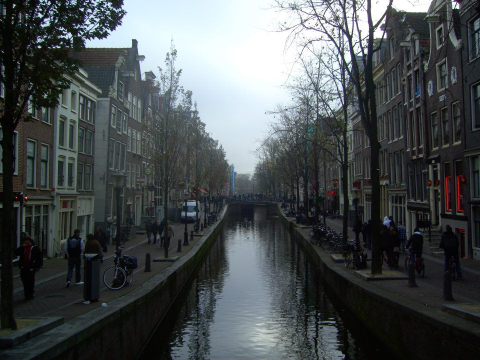 Amsterdam is a popular destination for students