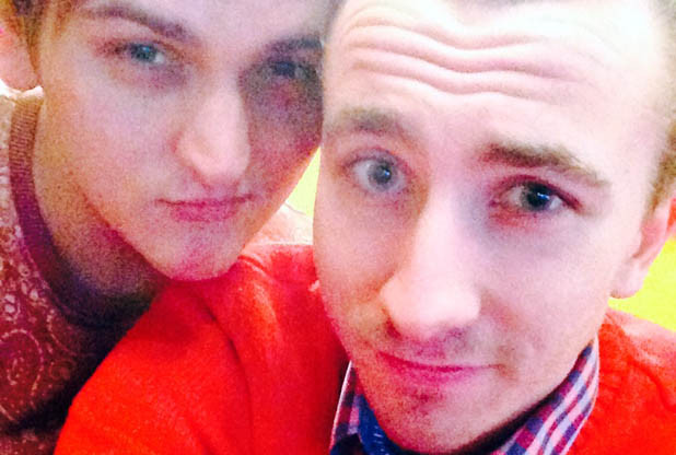 Dylan, 20, and Darren, 22,  were asked to leave when they kissed last Friday