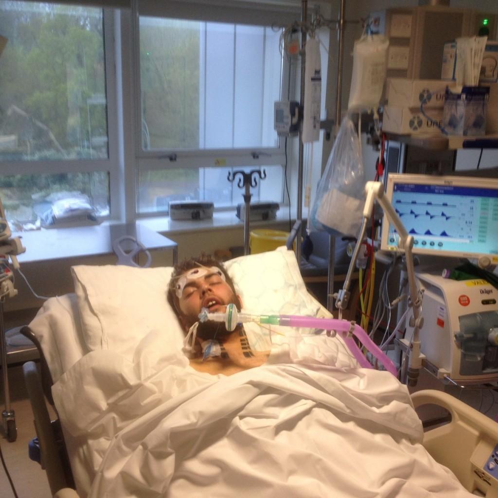 Jordan in hospital
