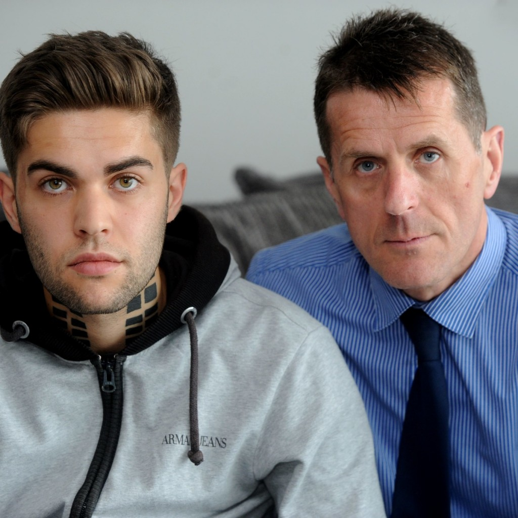 Jordan and his dad want legal highs to be banned