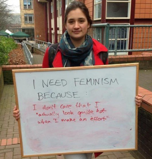 Constant FemSoc campaigns like this are boring