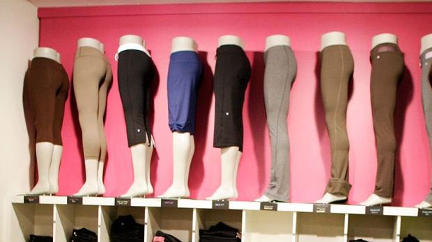 Yoga pants: Vancouver's downfall? Photo: Ctv.ca