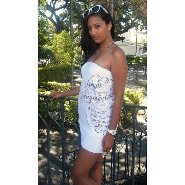 Feeling the heat? Wear a bandage dress!