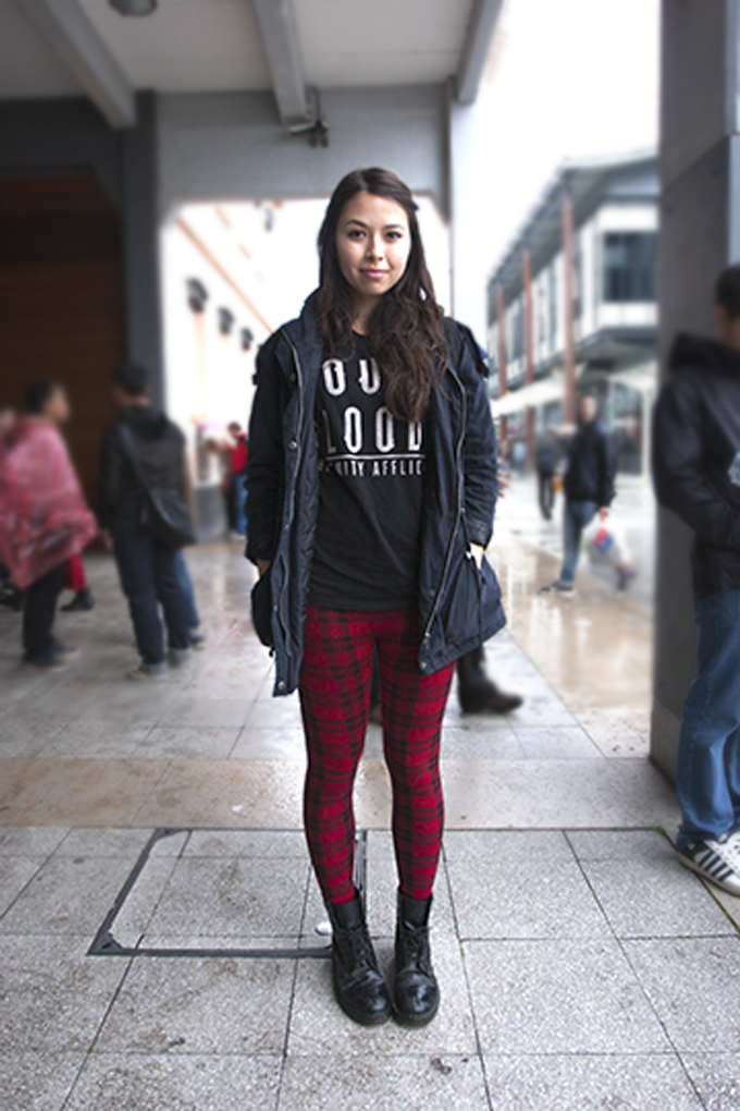 This Autumn Sees Tartan Making A Comeback Think Revamped 80s Punk And 90s Grunge