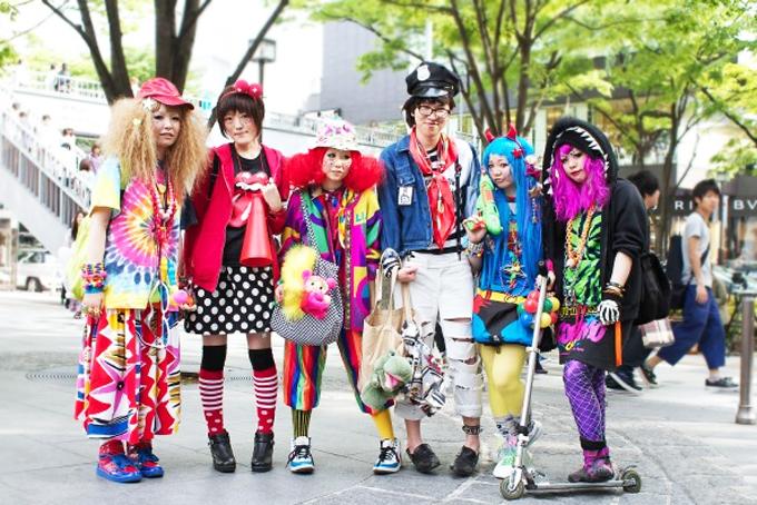 All the cool kids love Harajuku style