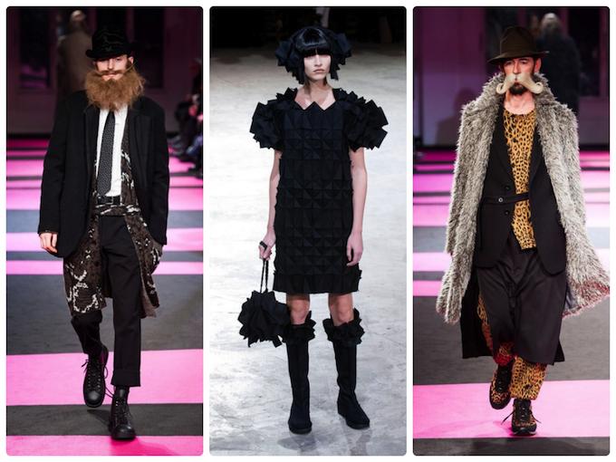 Yamamoto Autumn/Winter 2013 collection at Paris fashion week.