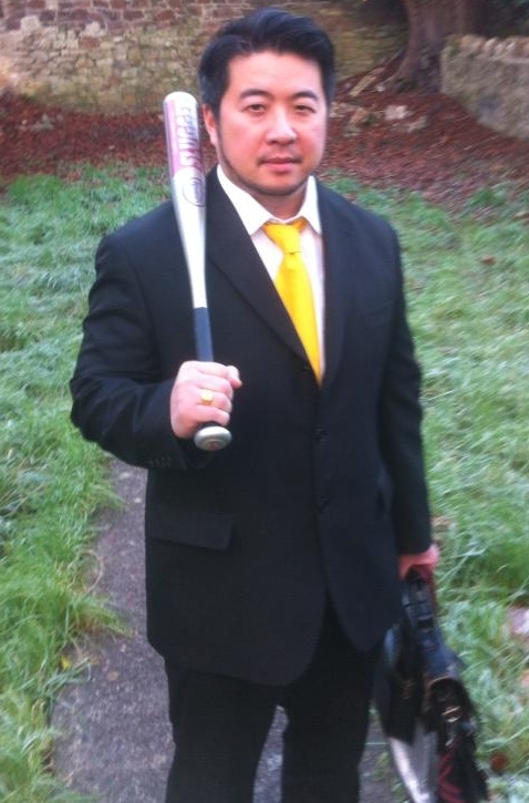 Armed and dangerous: Bristol landlord Rob Ho