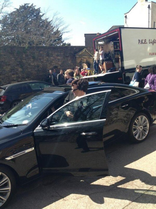 The Cumberbatch arrives at Goldney Hall