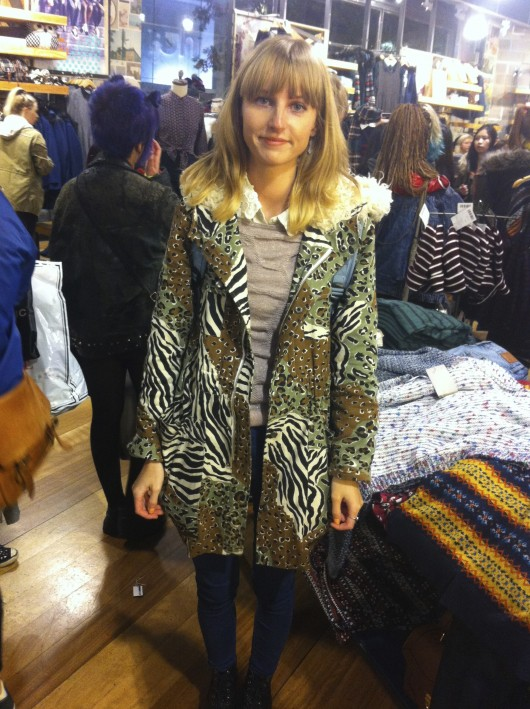 Leah's Minkpink parka, as seen in autumn's 'Street Style: From Catwalk to Campus' feature is still bang on trend this spring.