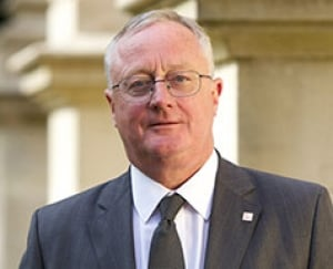 Knight of the realm: Vice-Chancellor Professor Sir Eric Thomas