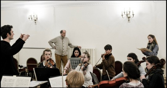 The Opera Society were honoured to host the world famous conductor