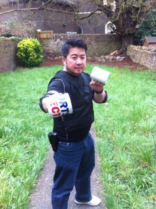 Don't mess with Rob and his mugs