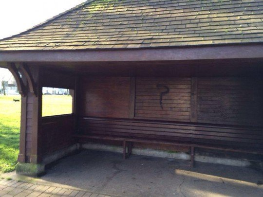 Downs bus stop