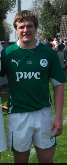 Seen here in his Ireland jersey, hopefully x will channel any frustration from the result of last weekends disappointment at Twickenham in the direction of the opposition on varsity day