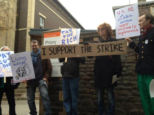 I support the strike