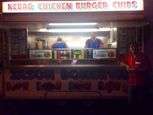 Kebab. Chicken. Burger. Chips. Legend.