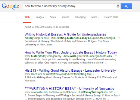 write good ap us history essays