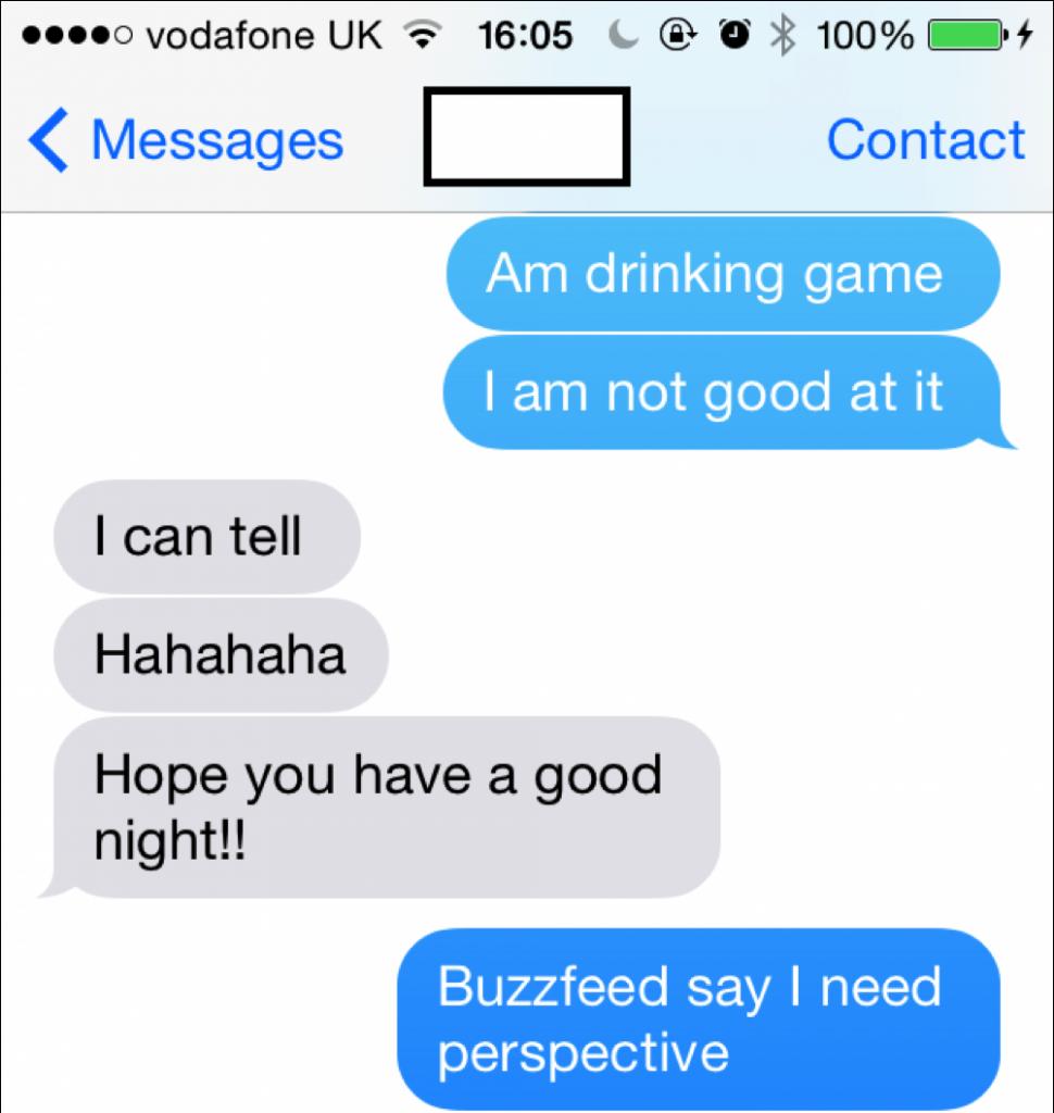 Always listen to Buzzfeed