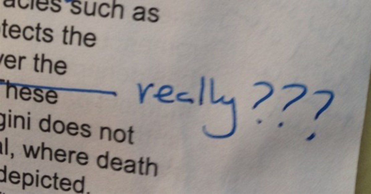 here are the worst types of essay feedback you will get at uni