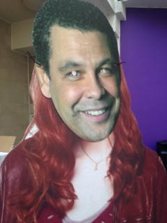 Craig Charles morphed with Amy Pond to host the battle