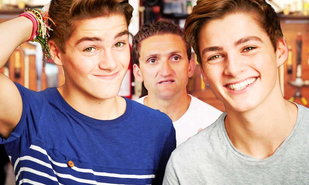 Have Jack and Finn been ripping off the guy in the middle? Photo: YouTube