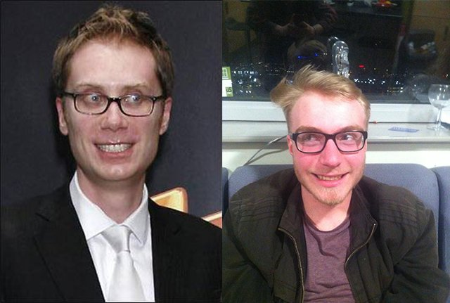 This fresher is the spitting image of Stephen Merchant