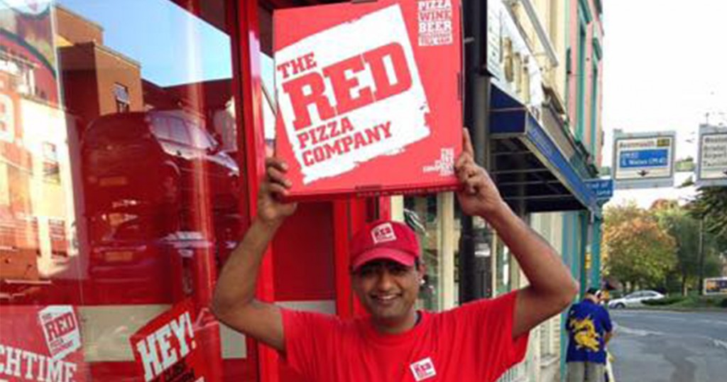 The Owner Of The Red Pizza Company Believes He Can Take On