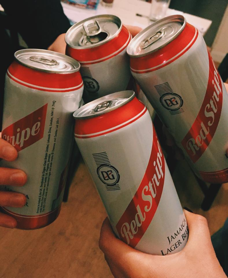 You don't need Red Stripe when you have her