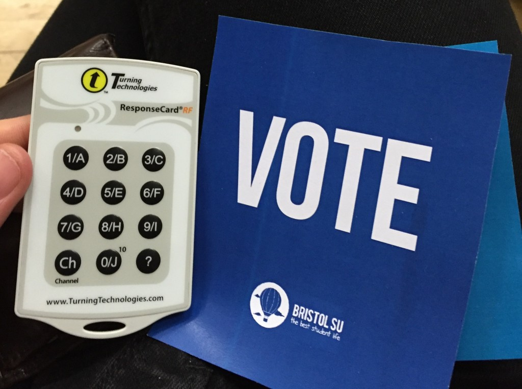 The voting remote