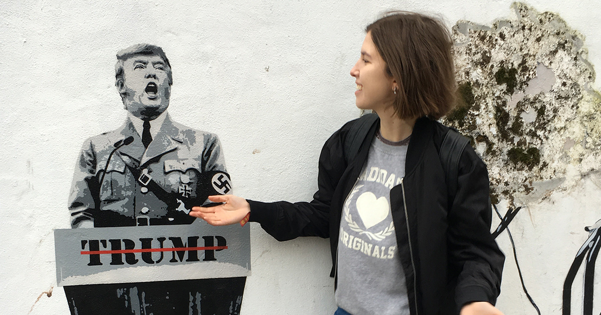 There's an anti-Trump protest happening in Bristol on Saturday