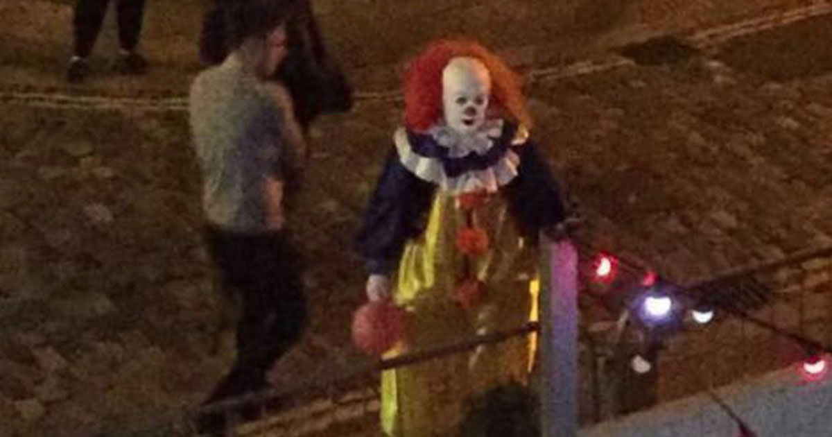 Killer Clowns Reportedly Spotted In Bristol