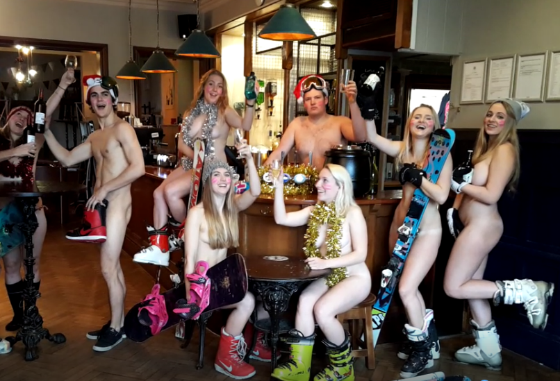 Bristol Students Go Butt Naked For Cheeky Calendar
