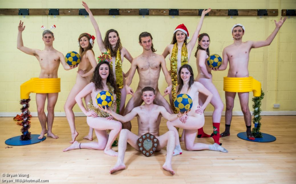 Bristol University Students Pose Naked For Raunchy Charity