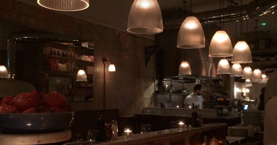 Image may contain: Pub, Bar Counter, Lighting, Bowl
