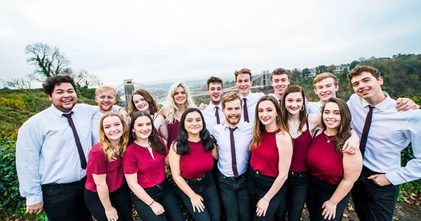 Bristol Uni's A Capella group won second place in ICCA