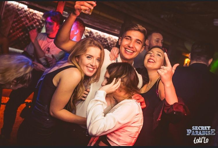 Image may contain: Photo, Photography, Portrait, Female, People, Night Life, Night Club, Face, Club, Party, Human, Person
