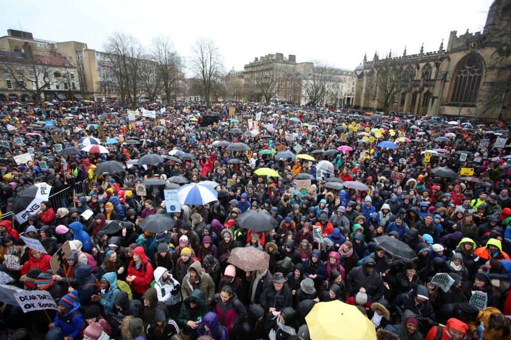 Greta Thunberg is in Bristol for climate strike