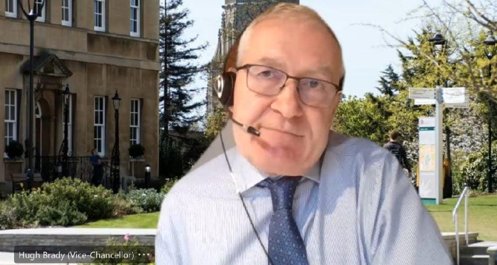 Bristol Uni Vice Chancellor Hugh Brady