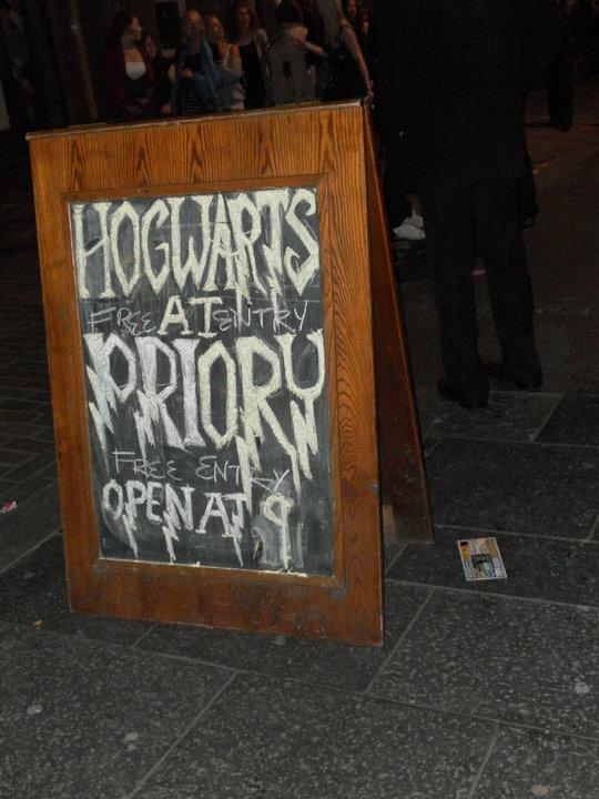 Professor Snape has been on the Purple Rain's